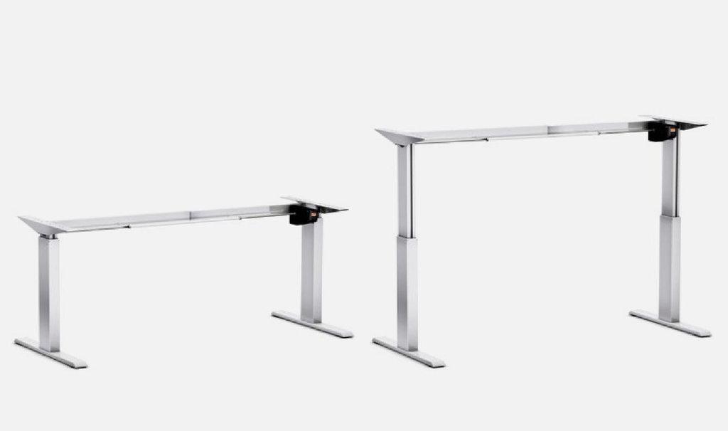 Schreibtisch gestell pro 140 m elektrisch h henverstellbar for Schreibtisch gestell